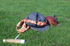 мушкел kneecap шлема Стоковое Изображение RF