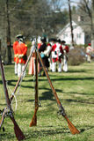 17 мушкетов столетия Стоковая Фотография