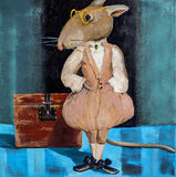 Мудрая крыса Стоковое Изображение RF
