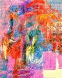 Мультимедиа на холсте стоковое изображение