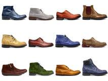 Мыжская обувь collection-1 Стоковые Изображения RF