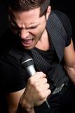 мыжская рок-звезда Стоковая Фотография