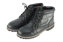 Мыжские ботинки зимы Стоковое Изображение