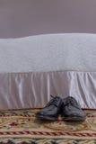 мыжские ботинки стоковое изображение