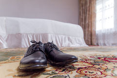 мыжские ботинки стоковые фотографии rf