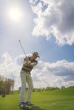 Мыжской игрок гольфа Стоковые Фотографии RF