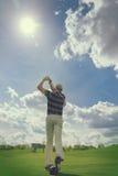 Мыжской игрок гольфа Стоковая Фотография RF