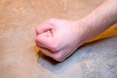Мыжской кулачок Стоковое Фото