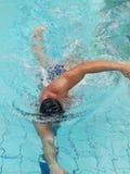 мыжской пловец стоковая фотография rf