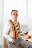 мыжской учитель стоковые изображения