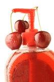мыло вишни жидкостное Стоковая Фотография