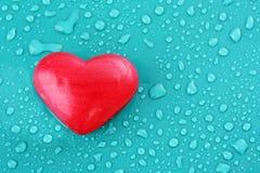 Мыло в форме сердца стоковое фото