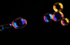 мыло покрашенное пузырями весьма Стоковые Фото