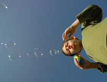 мыло пузырей Стоковое Изображение RF