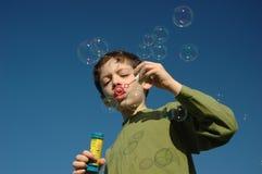 мыло пузырей стоковые фото