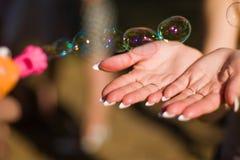 мыло пузырей Стоковая Фотография RF