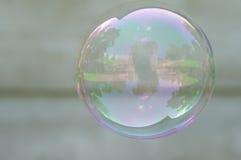 мыло пузыря предпосылки greay Стоковые Изображения
