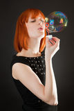 мыло пузыря Стоковые Изображения RF