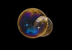 мыло пузыря Стоковое Изображение