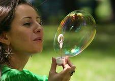 мыло пузыря Стоковые Фотографии RF