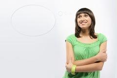 мысль воздушного шара Стоковые Изображения RF