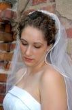 мысль невесты глубокая стоковое изображение rf