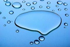 мысль пузыря стоковое фото