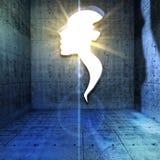 Мыслительные способности, духовность и воображение Стоковая Фотография