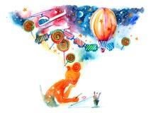 мысли бесплатная иллюстрация