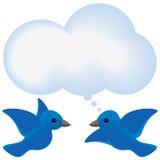 Мысль птицы Стоковые Фото