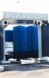 Мытье автомобиля в процессе Стоковое фото RF