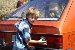 мытье автомобиля Стоковая Фотография RF