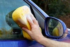 мытье автомобиля Стоковое Фото
