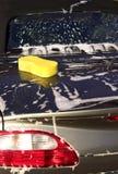 мытье автомобиля Стоковые Изображения RF