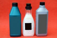 Мытье автотракторного масла и экрана для автомобилей умягчитель ткани прачечной Стоковое фото RF
