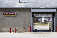 мытье губки машины шланга автомобиля чистое Стоковая Фотография RF