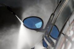 мытье губки машины шланга автомобиля чистое Стоковые Изображения