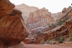 мытье каньона грандиозное Стоковое Изображение RF