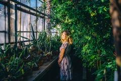 Мытье красивое сад утра Стоковые Фото