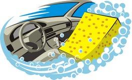 мытье салона Стоковые Изображения RF