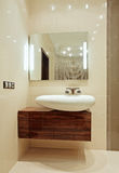 мытье стойки детали ванной комнаты нутряное Стоковое Изображение