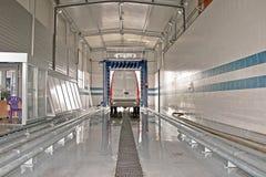 мытье фургона стоковая фотография rf