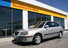 мытье 2 автомобилей touchless Стоковые Изображения RF