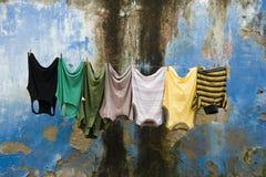 мыть одежд Стоковое Изображение RF