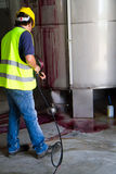 Мыть промышленные предпосылки Стоковое Изображение