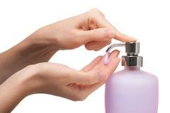 мыть рук Стоковое фото RF