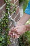 Мыть рук Стоковые Фото