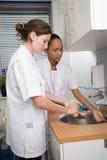 мыть рук Стоковые Изображения RF