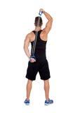 Мышечная тренировка человека стоковая фотография