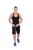 Мышечная тренировка человека стоковое изображение rf